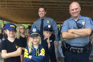 APD visits the YMCA